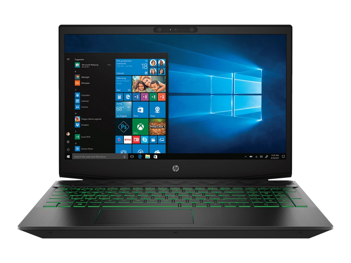 """Image for HP 15-CX0030NR - 15.6"""" Laptop - Intel Core i5 - 8GB Memory - NVIDIA GeForce GTX 1050 Ti - 1TB Hard Drive + 128GB SSD from Circuit City"""
