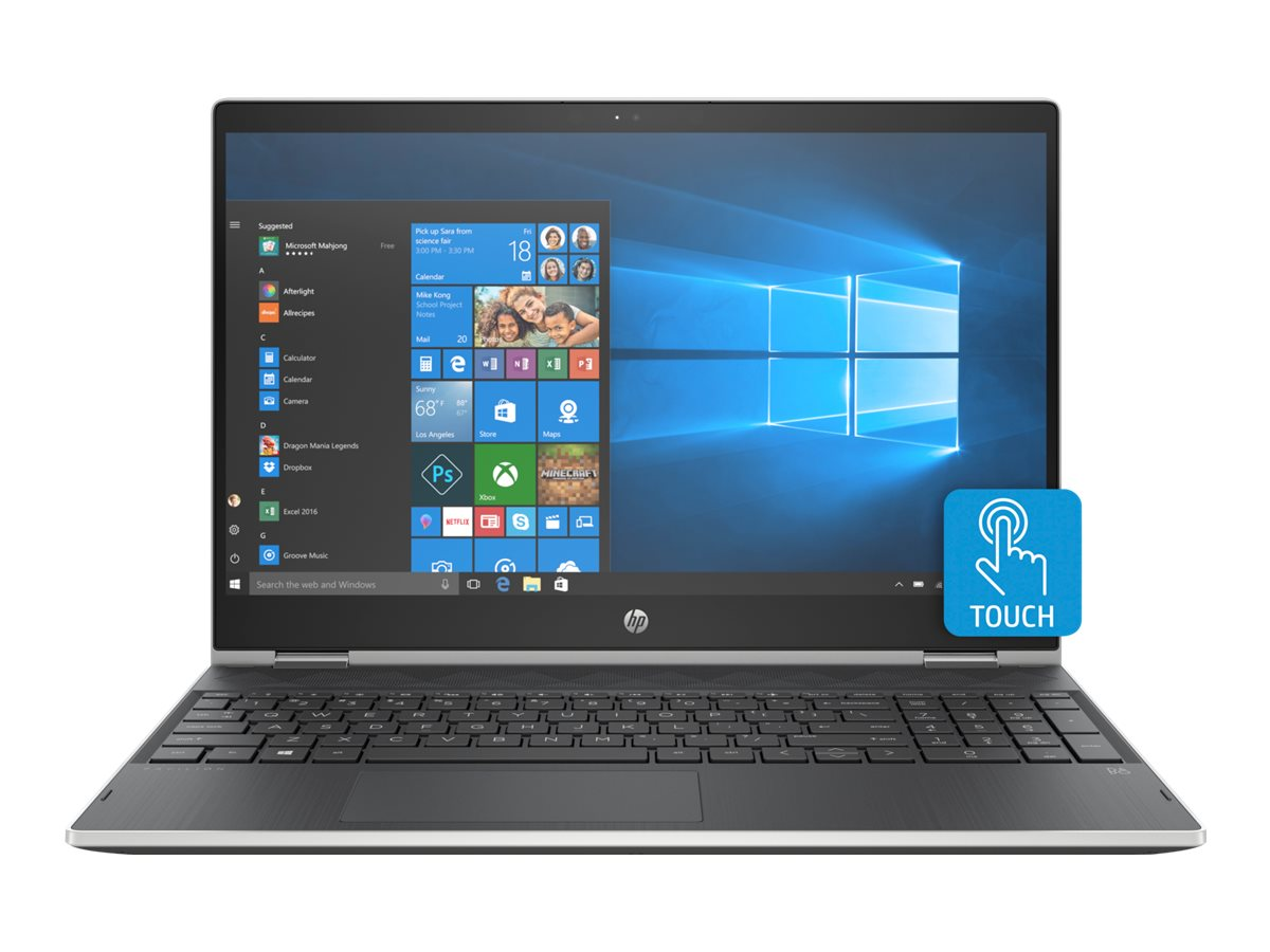 """Image for HP Pavilion x360 15-cr0010nr - 15.6"""" - Core i5 8250U - 8 GB RAM - 1 TB HDD - US from Circuit City"""