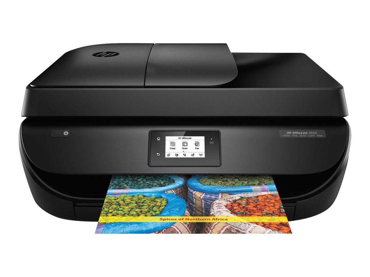 Image for Hp Officejet 4650 All-In-One - Multifunction Printer (Color) from Circuit City