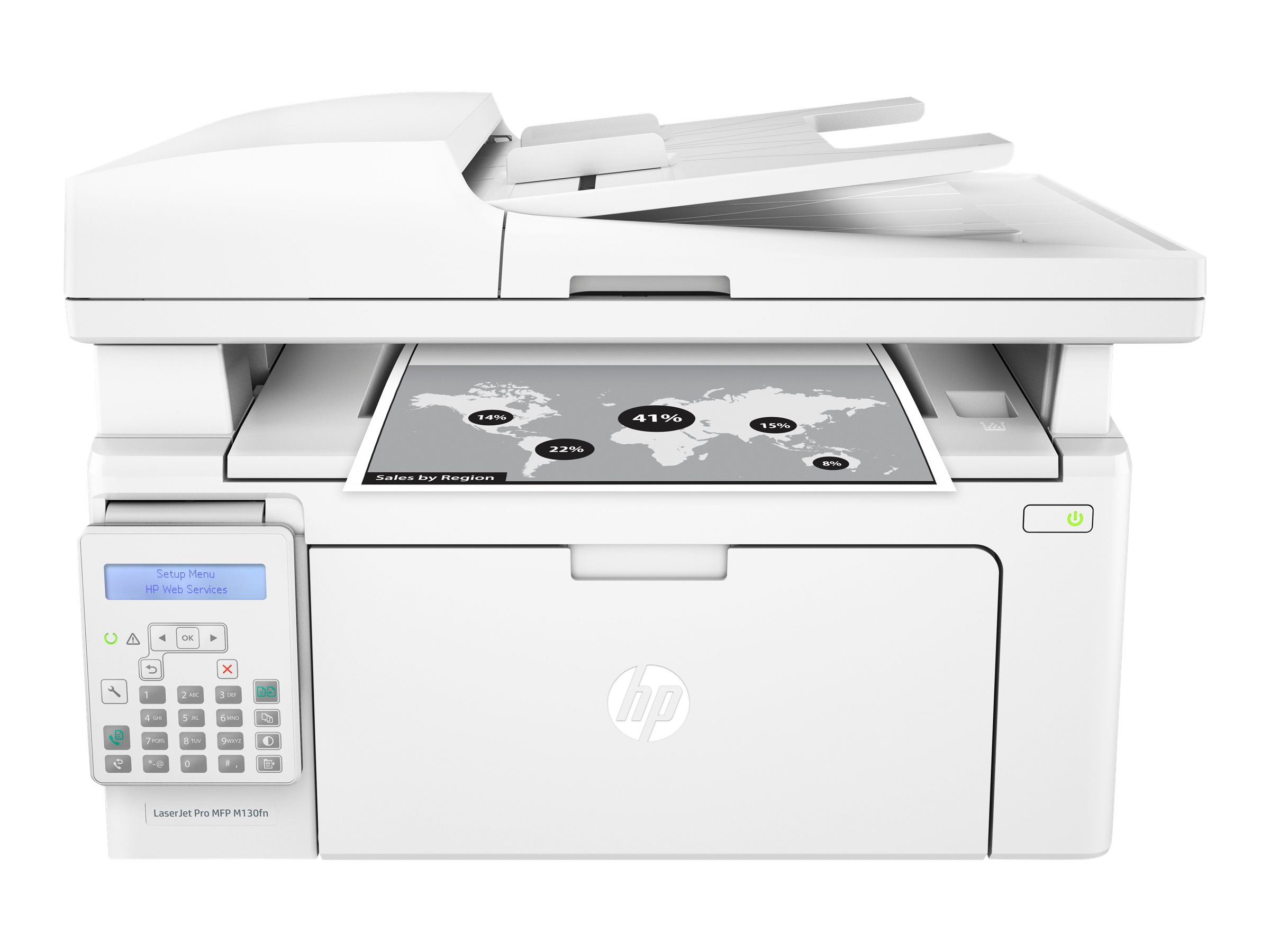 Image for Hp Laserjet Pro Mfp M130Fn - Multifunction Printer (B/W) from Circuit City