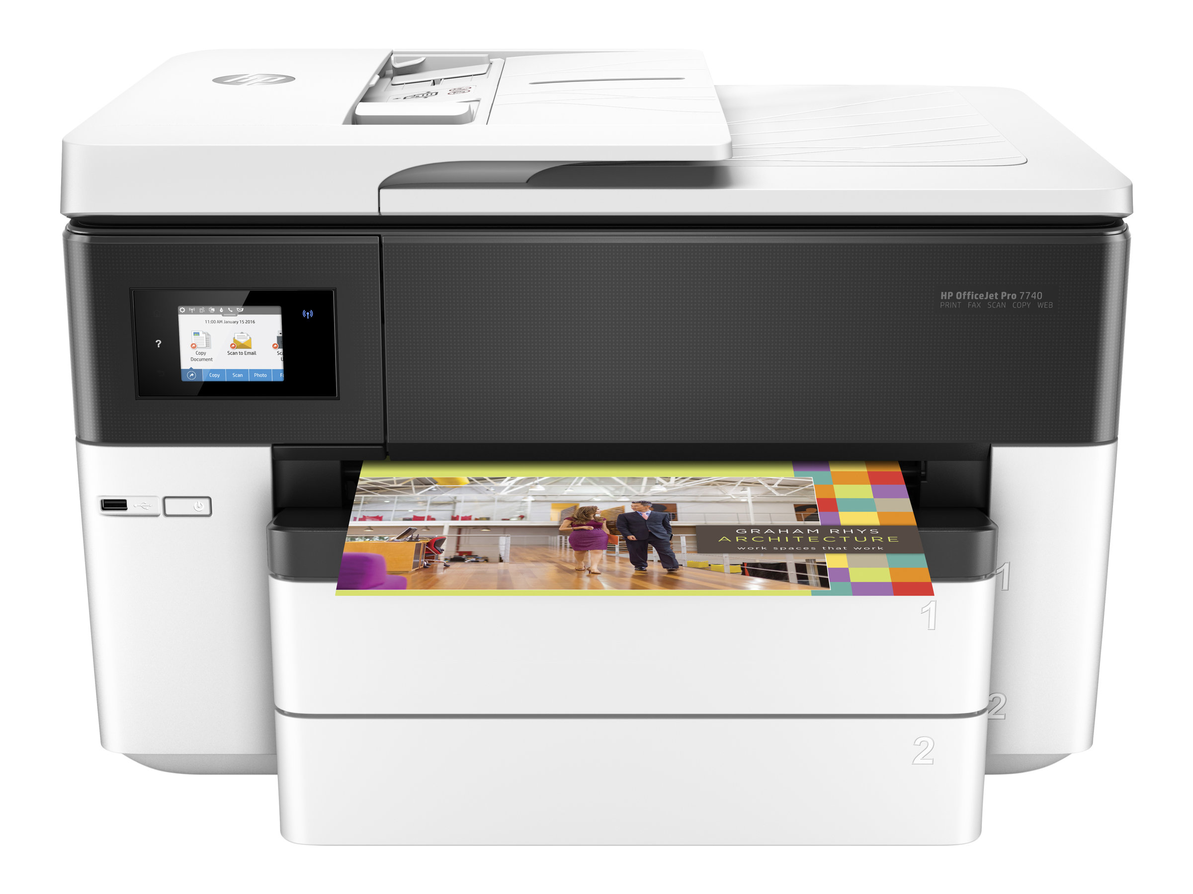 Image for Hp Officejet Pro 7740 All-In-One - Multifunction Printer (Color) from Circuit City
