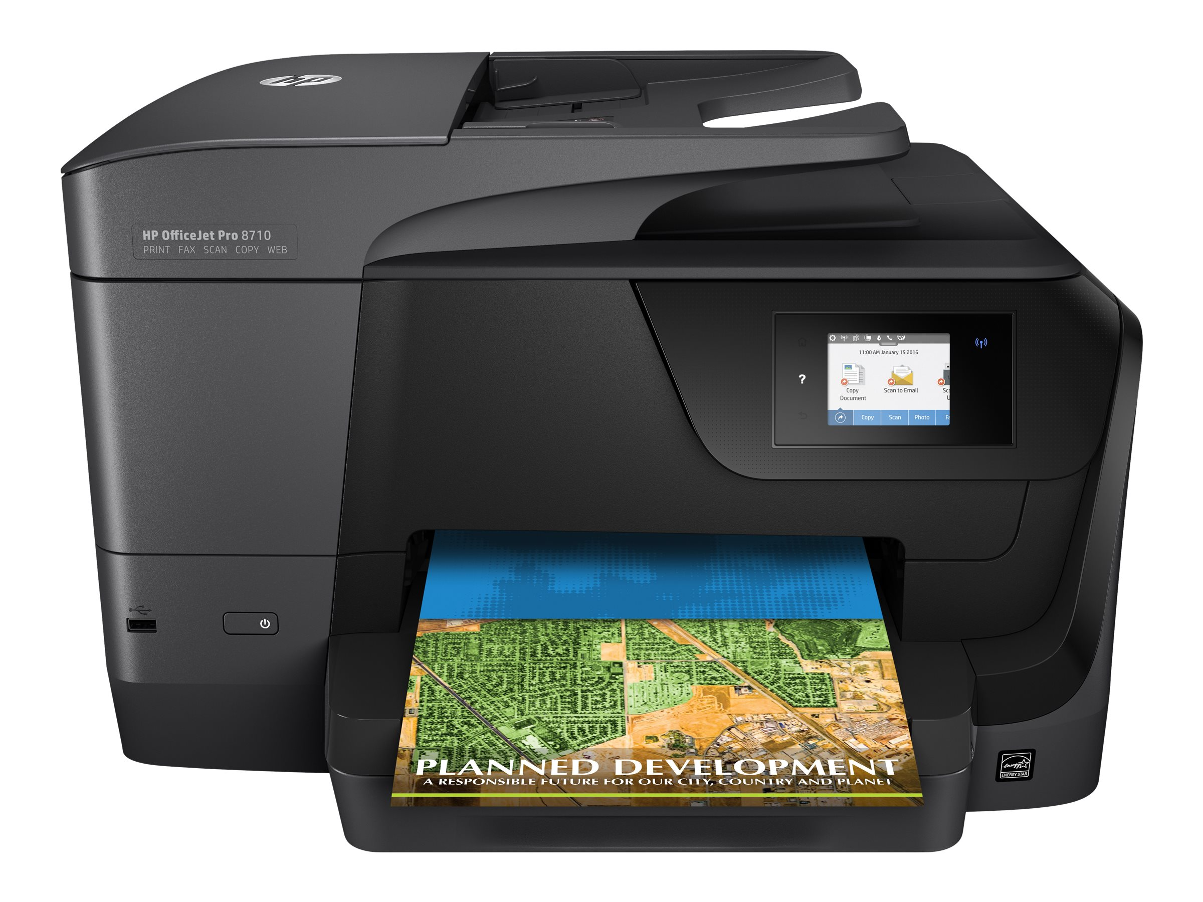 Image for Hp Officejet Pro 8710 All-In-One - Multifunction Printer (Color) from Circuit City