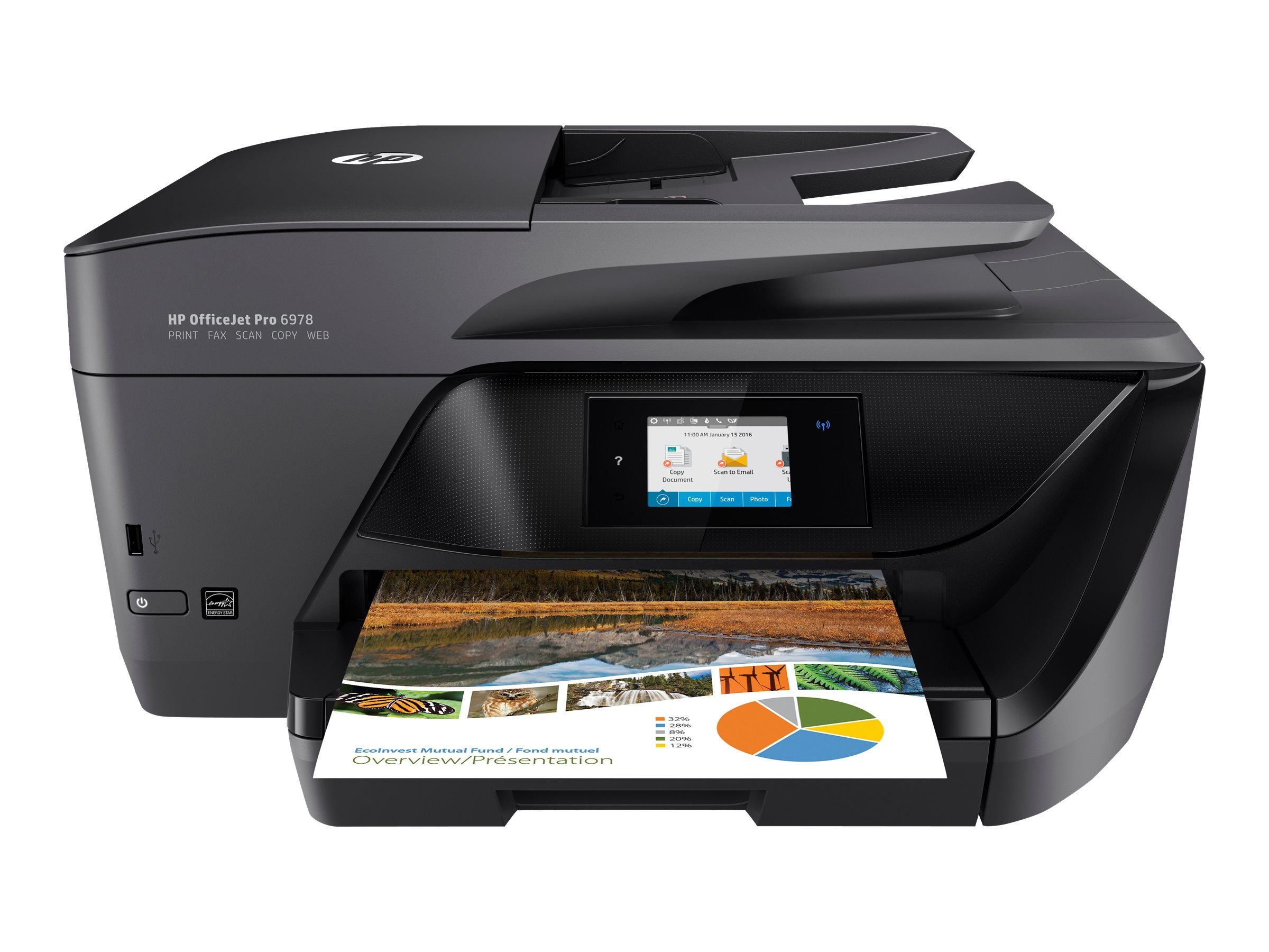 Image for Hp Officejet Pro 6978 All-In-One - Multifunction Printer (Color) from Circuit City
