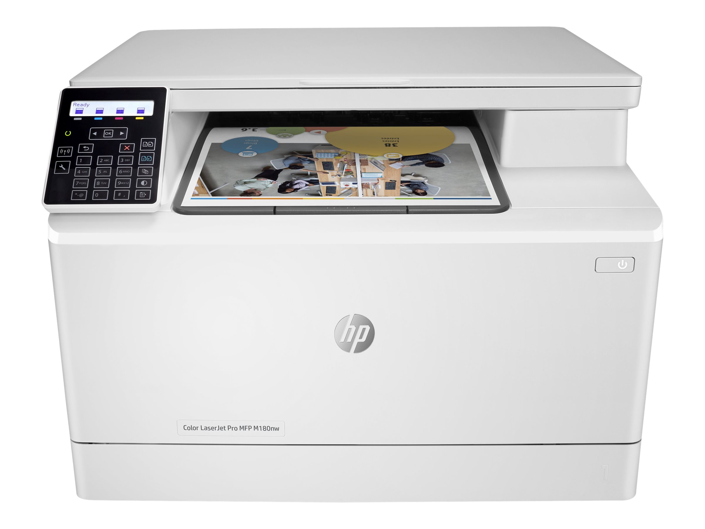 Image for Hp Color Laserjet Pro Mfp M180Nw - Multifunction Printer (Color) from Circuit City