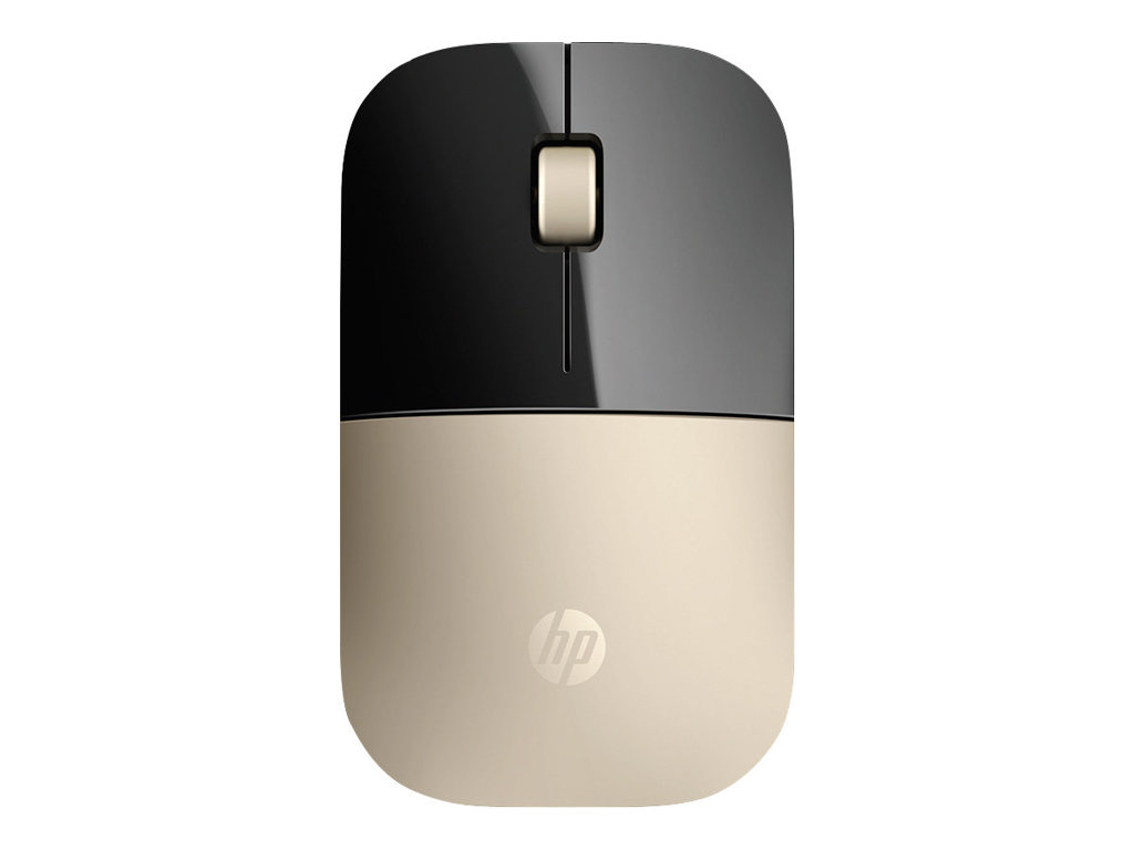 Image for Hp Z3700 - Mouse - 2.4 Ghz - Gold from Circuit City