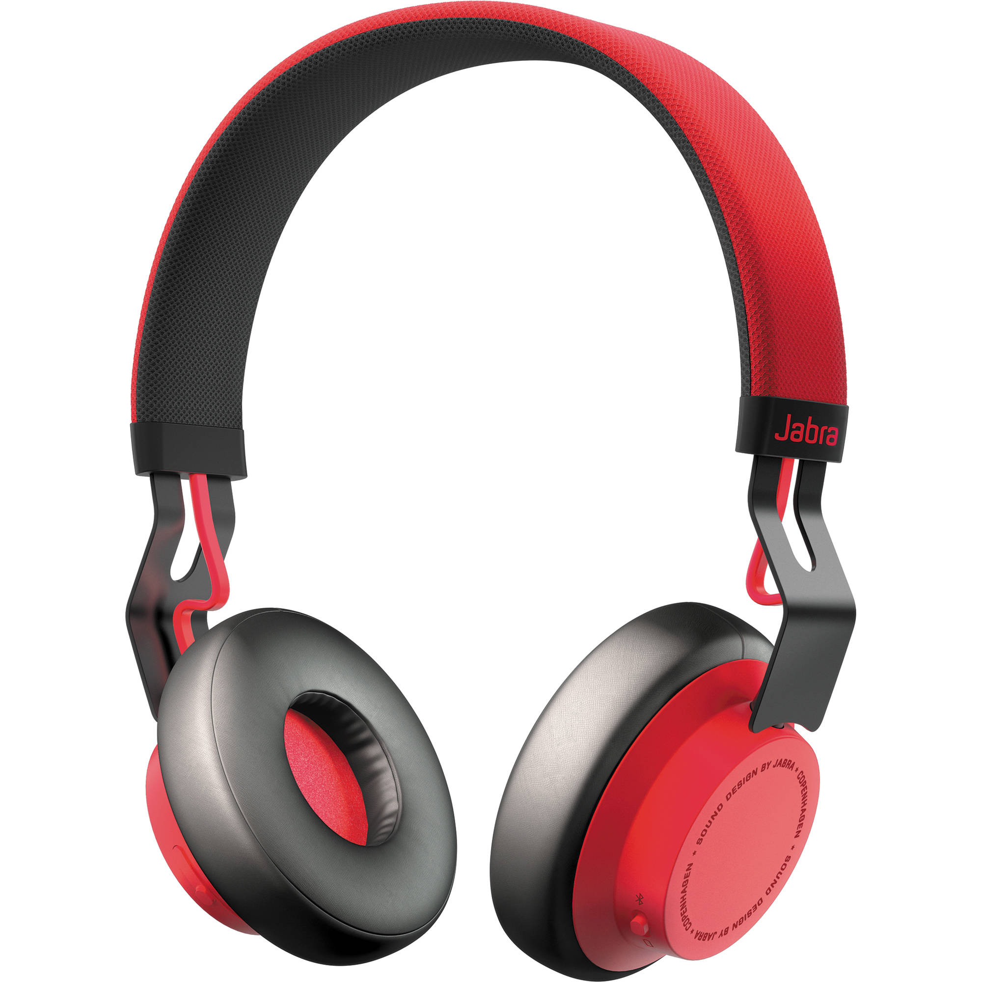 Jabra Move Wireless Stereo Headset, Red