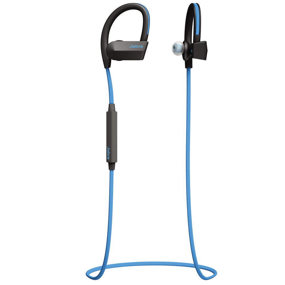 Jabra Sport Pace Wireless Bluetooth Stereo Earbuds, Blue