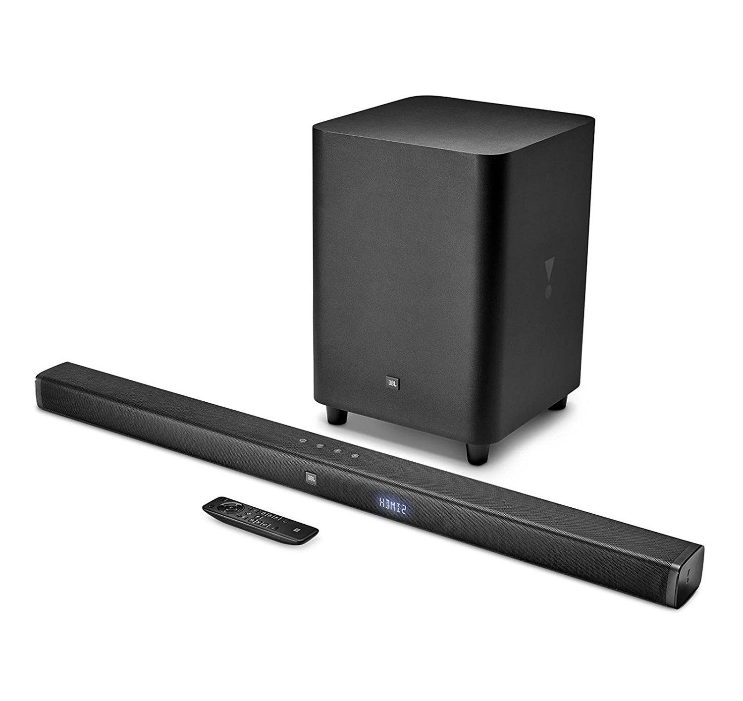 "Image for JBL - 3.1-Channel Soundbar System with 10"" Wireless Subwoofer and Digital Amplifier - Black from Circuit City"