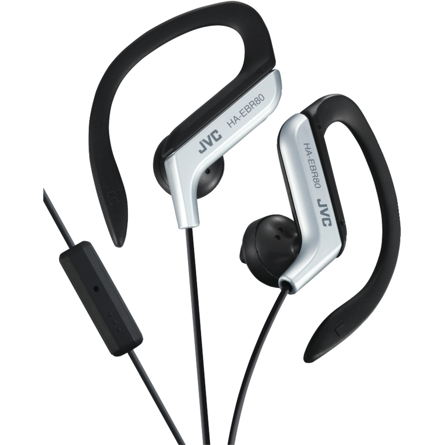 Image for Jvc Sport Earclip W Mic  Silver from Circuit City