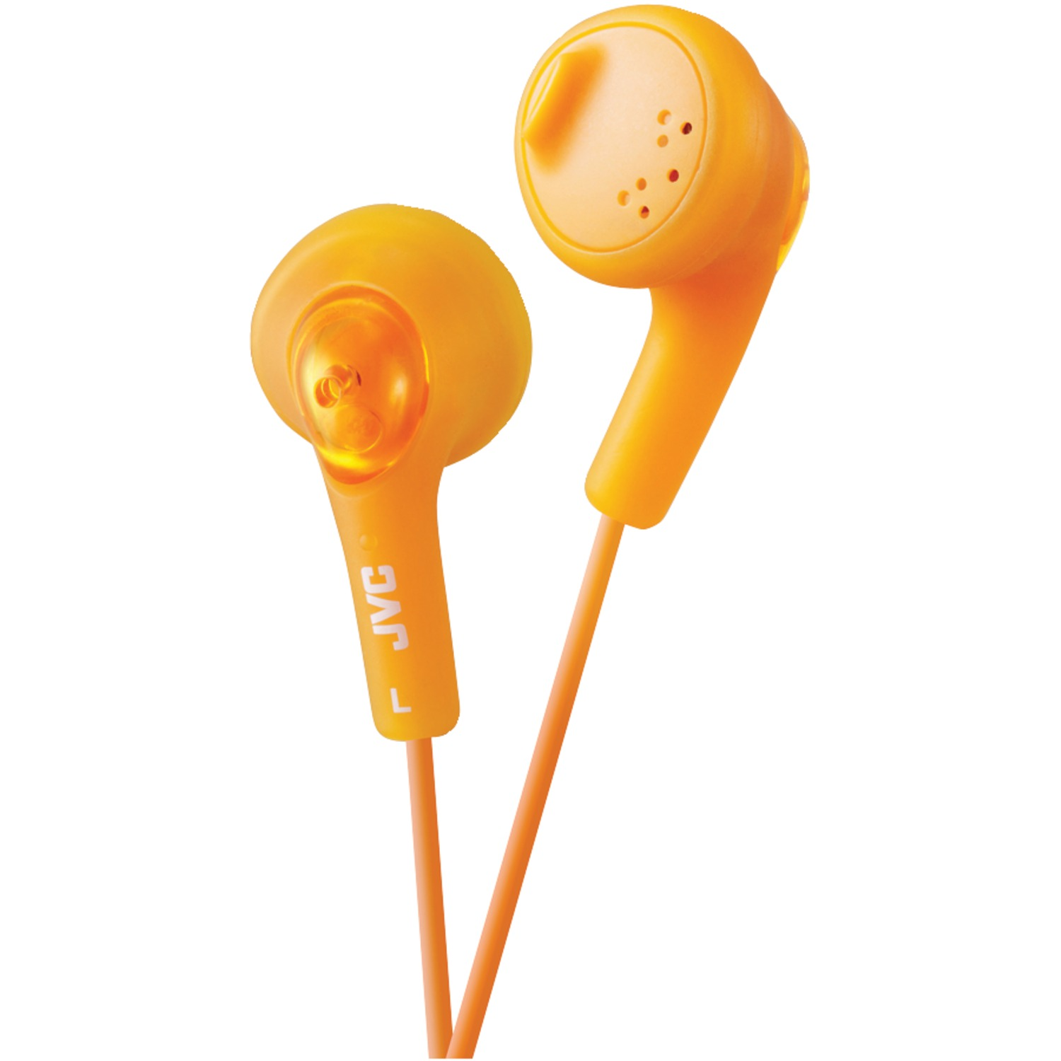 Image for Jvc Basic Gummy Earbuds Orange from Circuit City