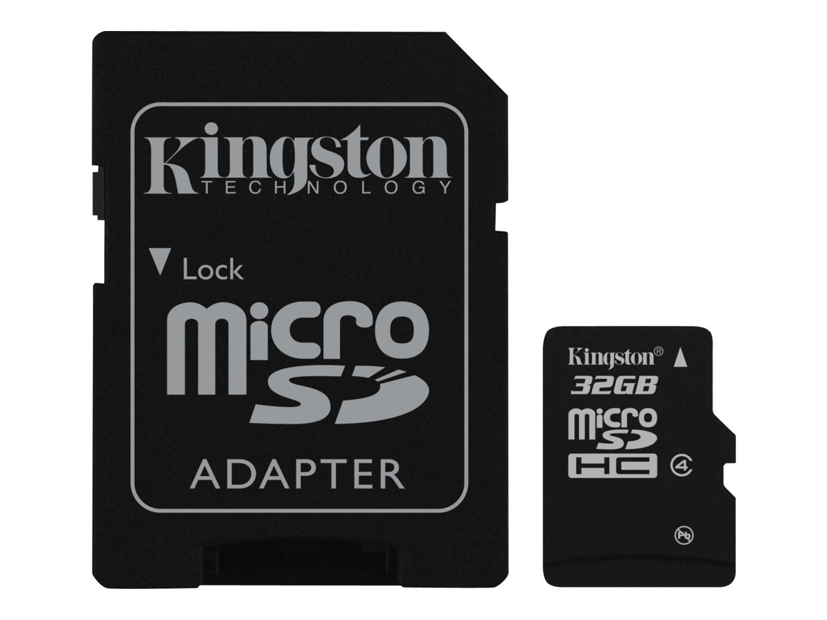 Image for Kingston Digital 32 Gb Microsdhc Flash Memory Card from Circuit City
