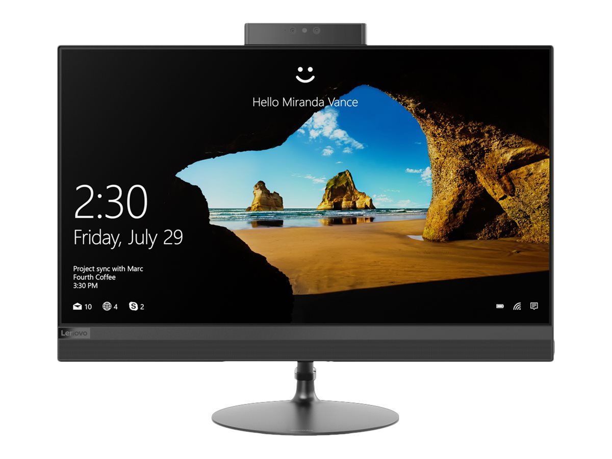 """Image for Lenovo 520-24IKL - all-in-one - Core i5 7400T 2.4 GHz - 8 GB - 2 TB - LED 23.8"""" from Circuit City"""