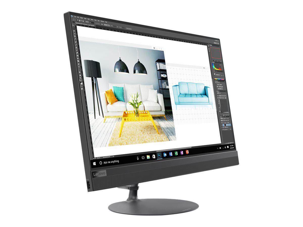 "Image for Lenovo 520-24ICB - all-in-one - Core i7 8700T 2.4 GHz - 12 GB - 2 TB - LED 23.8"" from Circuit City"