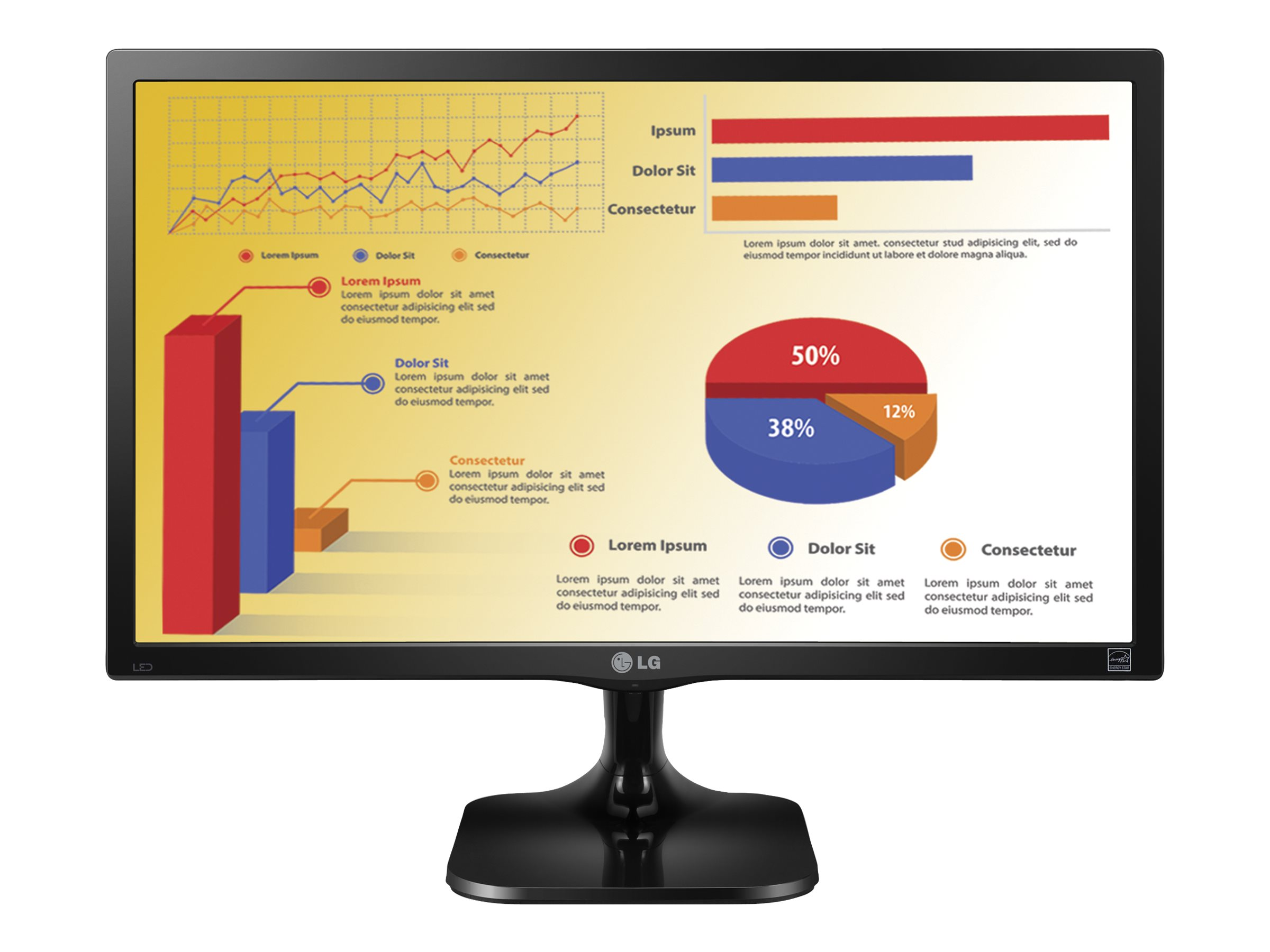 "Image for Lg - Led Monitor - Full Hd (1080P) - 22"" from Circuit City"