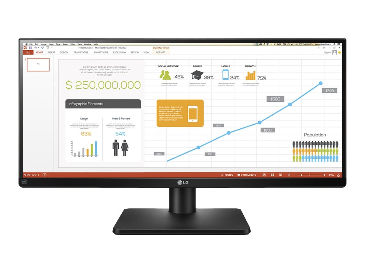 """Image for Lg - Led Monitor - 29"""" from Circuit City"""