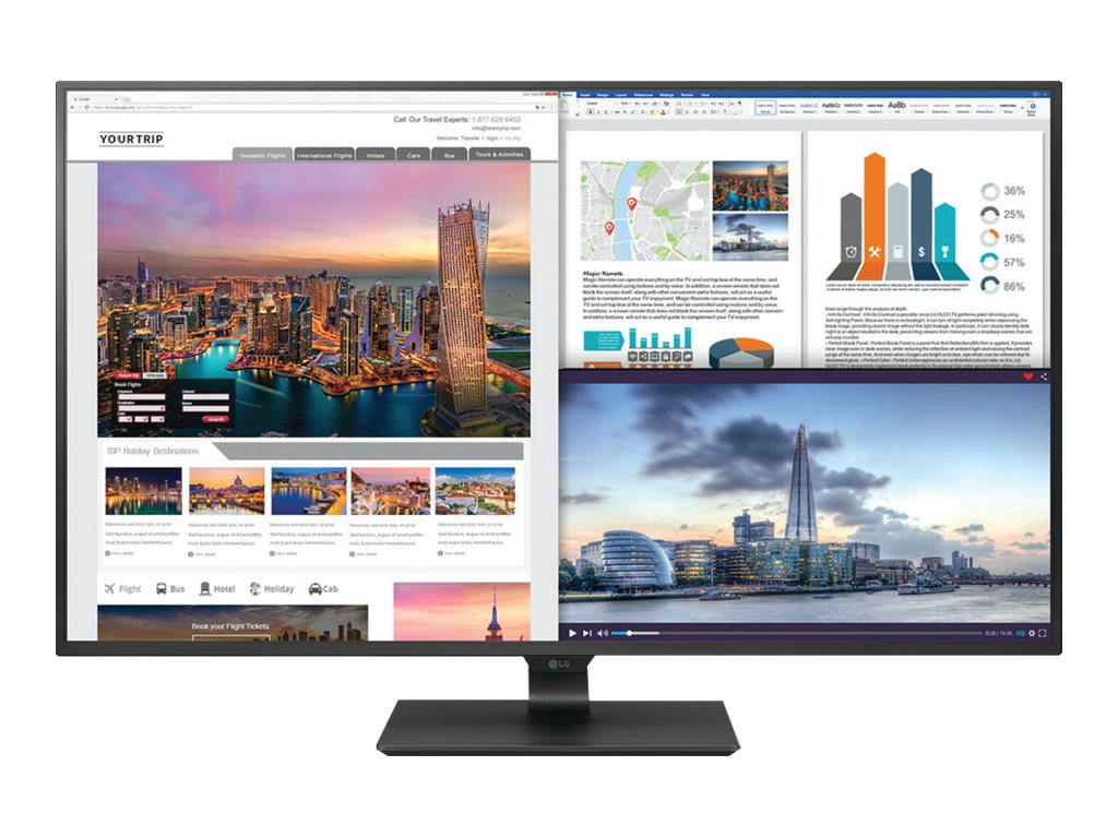 """Image for Lg - Led Monitor - 4K - 43"""" from Circuit City"""