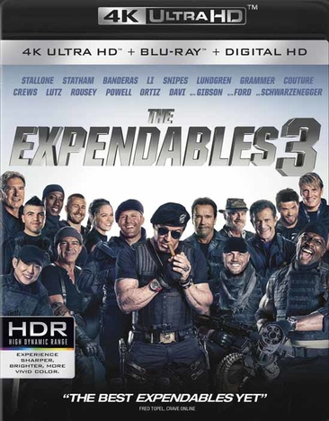 Image for Expendables 3 (Blu Ray/4Kuhd) from Circuit City