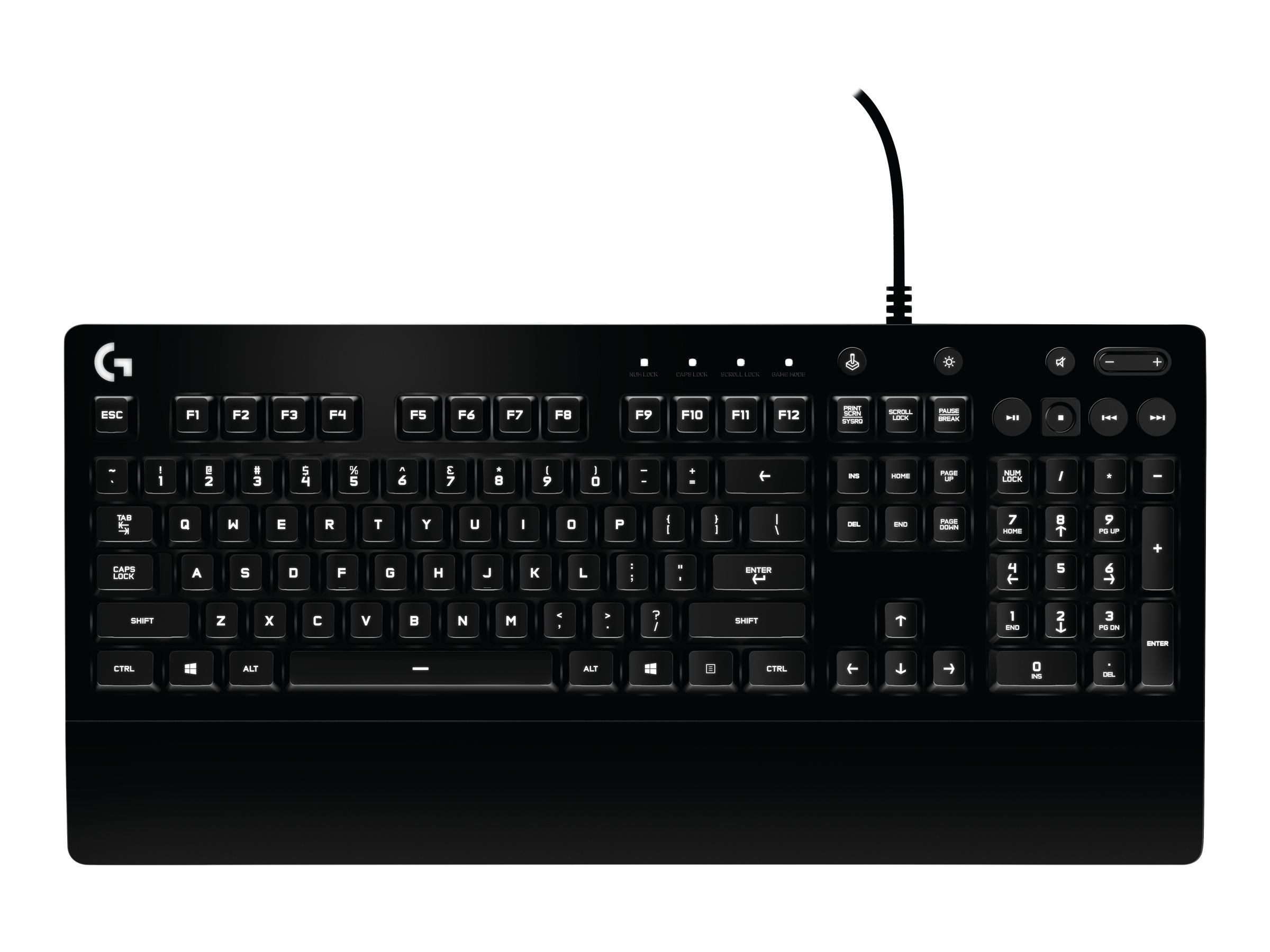 Image for Logitech Prodigy Wired Gaming Keyboard from Circuit City
