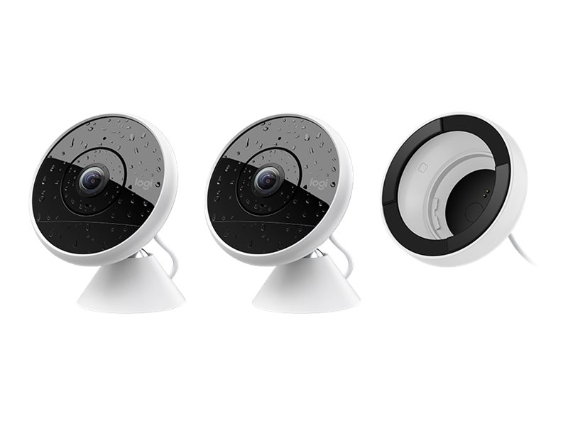 Image for Logitech Circle 2 - Wired - network surveillance camera from Circuit City