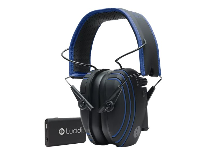 Image for Lucid Audio Bluetooth Wireless Hearing Headphones - Headphones With Mic - With Lucid Audio Tv Streamer from Circuit City