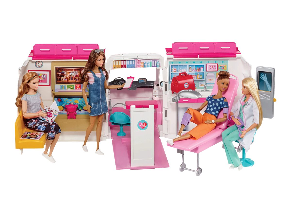 Image for Mattel BARBIE CARE CLINIC PLAYSET from Circuit City