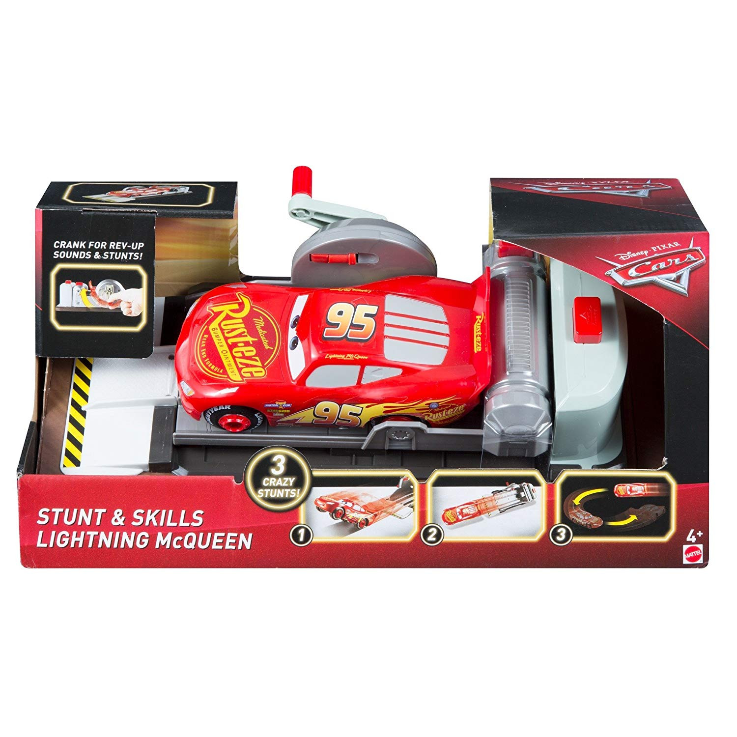 Image for Disney Pixar Cars McQueen - Stunt and Skills Lightning McQueen from Circuit City