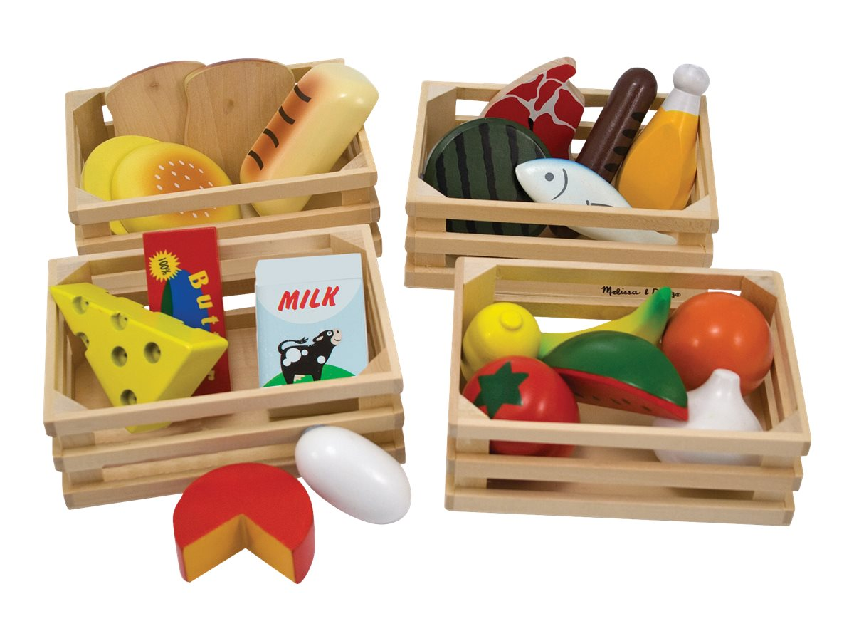 Image for Melissa & Doug - Food Groups - Wooden Play Food from Circuit City