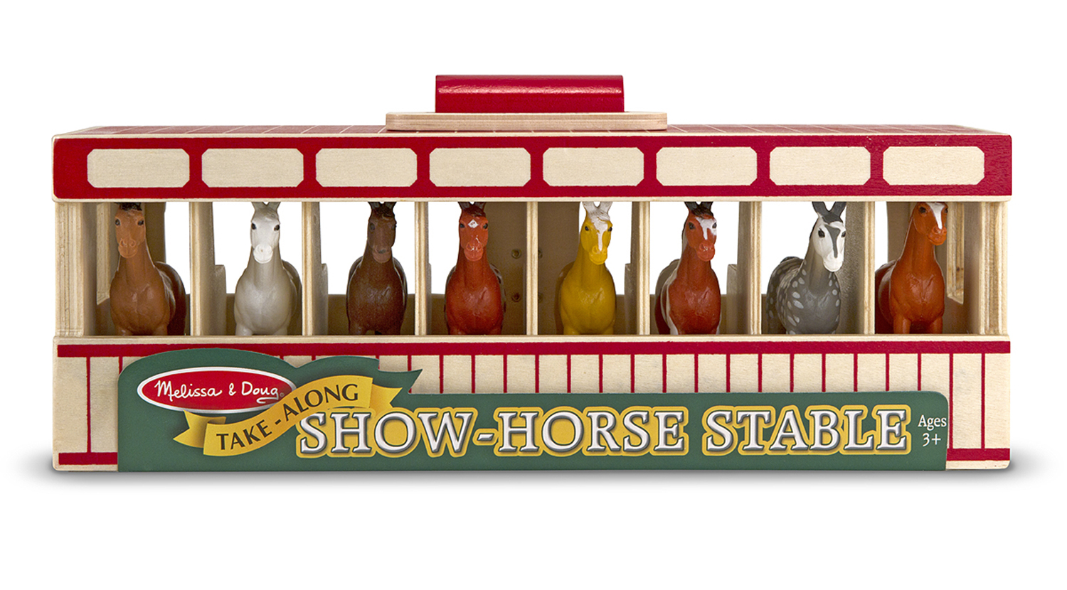 Image for Melissa & Doug Take-Along - show-horse stable play set from Circuit City