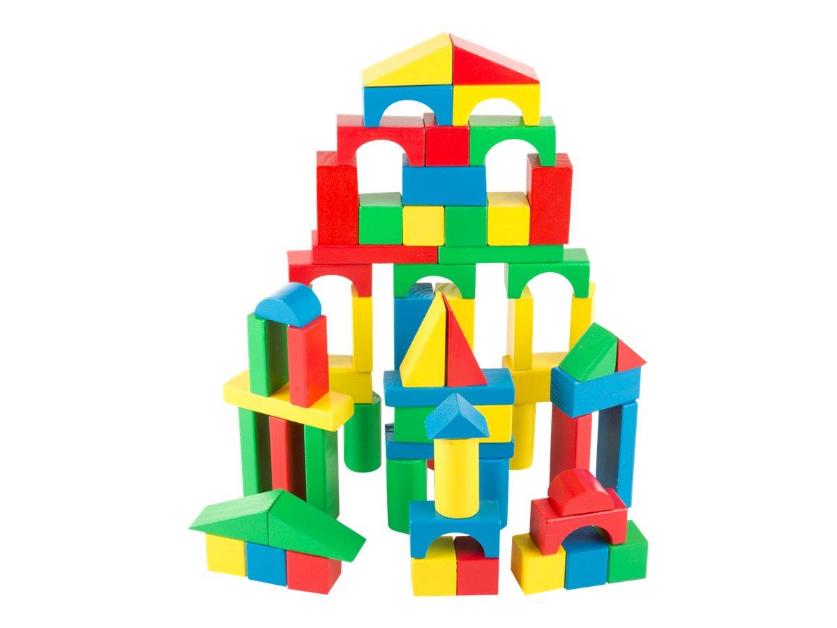 Image for Melissa & Doug - Wood Blocks Set - building blocks from Circuit City