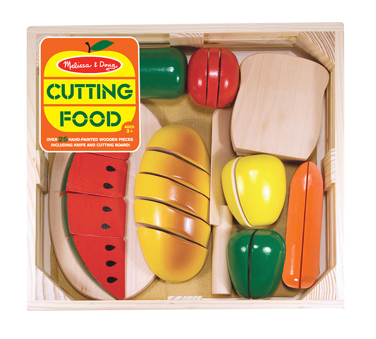 Image for Melissa & Doug - Cutting Food - Wooden Play Food from Circuit City