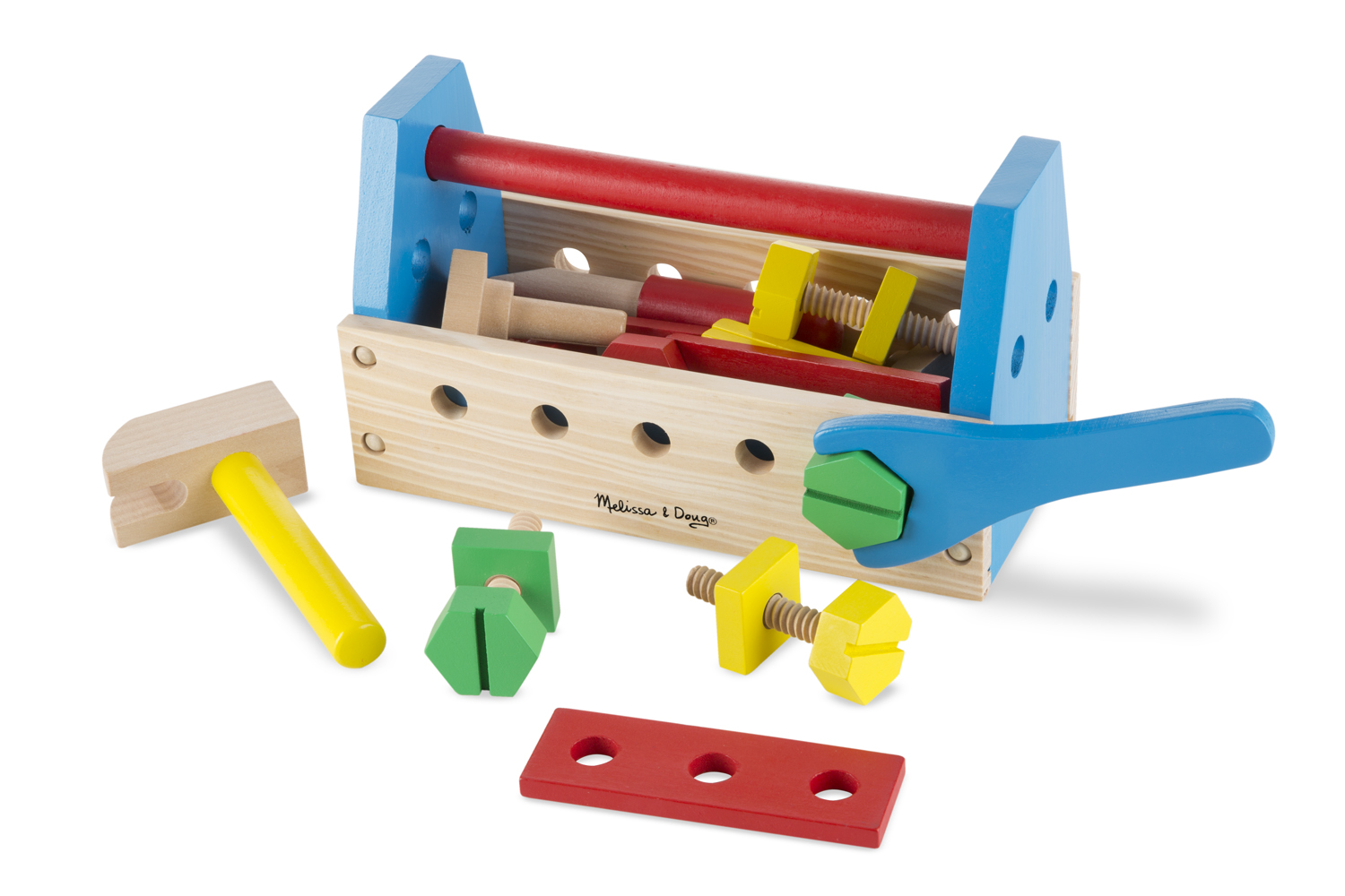 Image for Melissa & Doug - Take-Along Tool Kit Wooden Toy from Circuit City