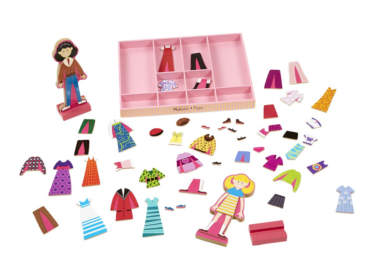 Image for Melissa & Doug - Abby & Emma Magnetic Dress-Up Set from Circuit City