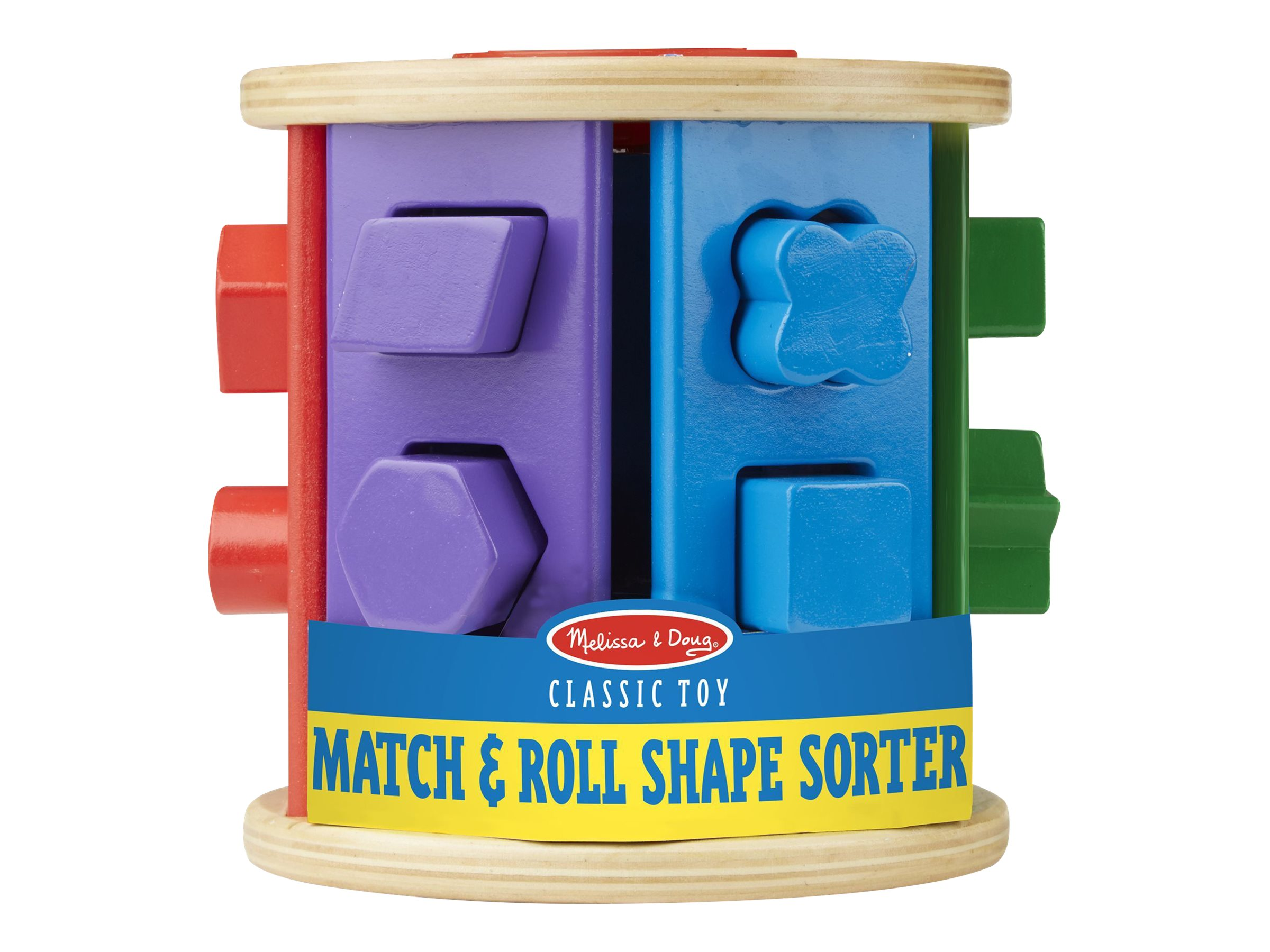 Image for Melissa & Doug - Match & Roll Shape Sorter from Circuit City
