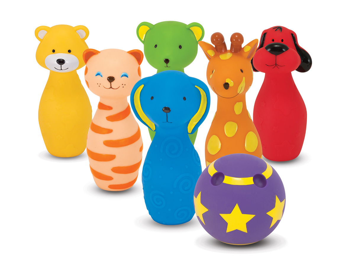 Image for Melissa & Doug BOWLING FRIENDS BABY PLAY KS from Circuit City