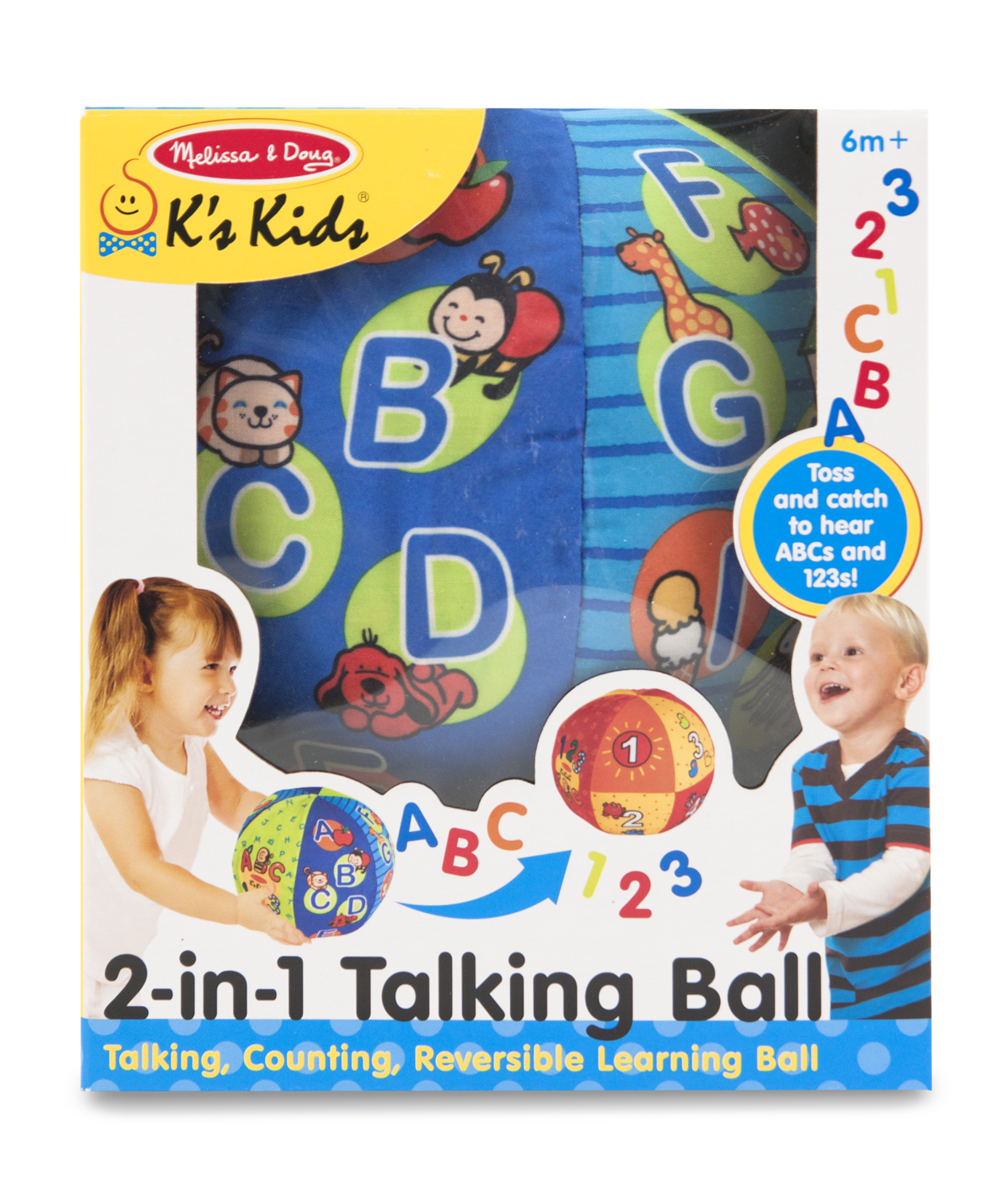 Image for Melissa & Doug 2 IN 1 TALKING BALL BABY PLAY from Circuit City