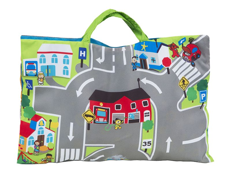 Image for Melissa & Doug K's Kids - Take-Along Town Play Mat from Circuit City
