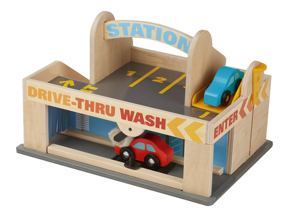 Image for Melissa & Doug - Service Station Parking Garage from Circuit City