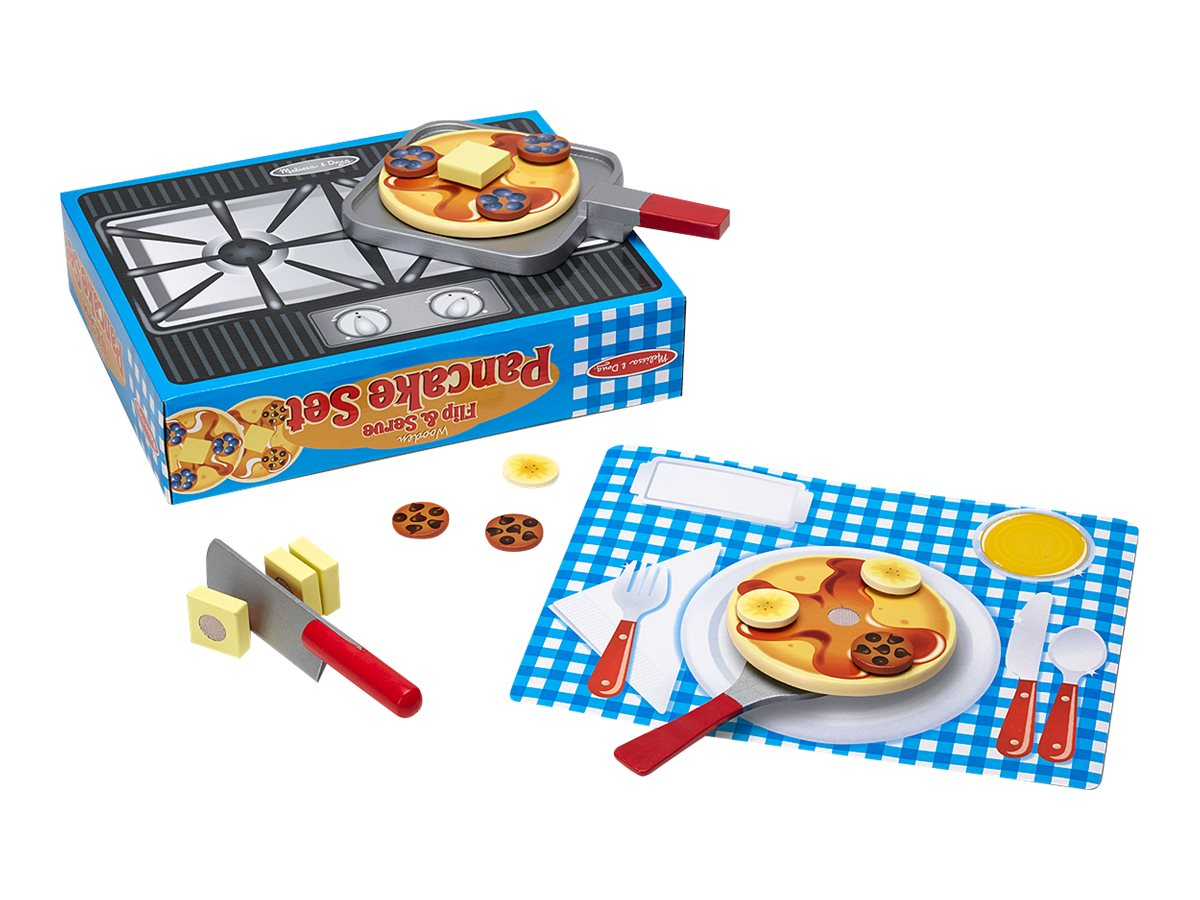 Image for Melissa & Doug WOODEN FLIP & SERVE PANCAKE SET from Circuit City