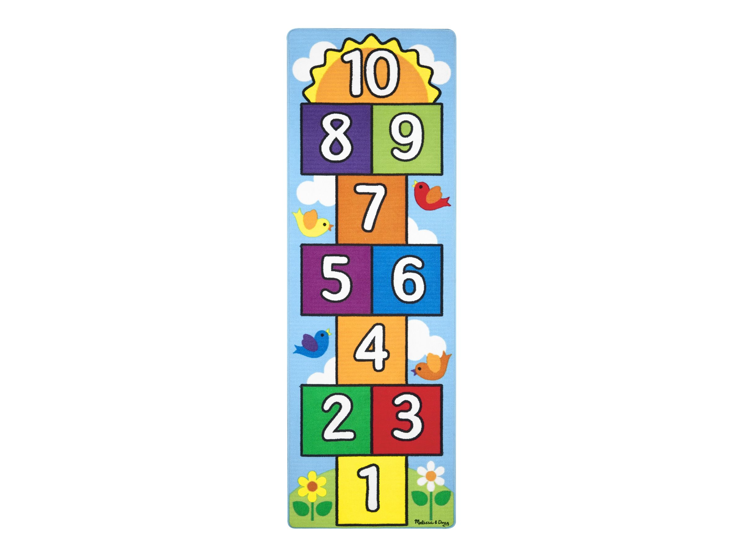 Image for Melissa & Doug - Hop & Count Hopscotch Rug from Circuit City