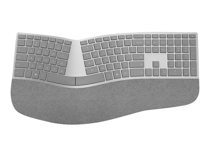 Image for Microsoft Surface Ergonomic Keyboard - Keyboard - wireless - Bluetooth 4.0  - North American layout - alcantara gray from Circuit City