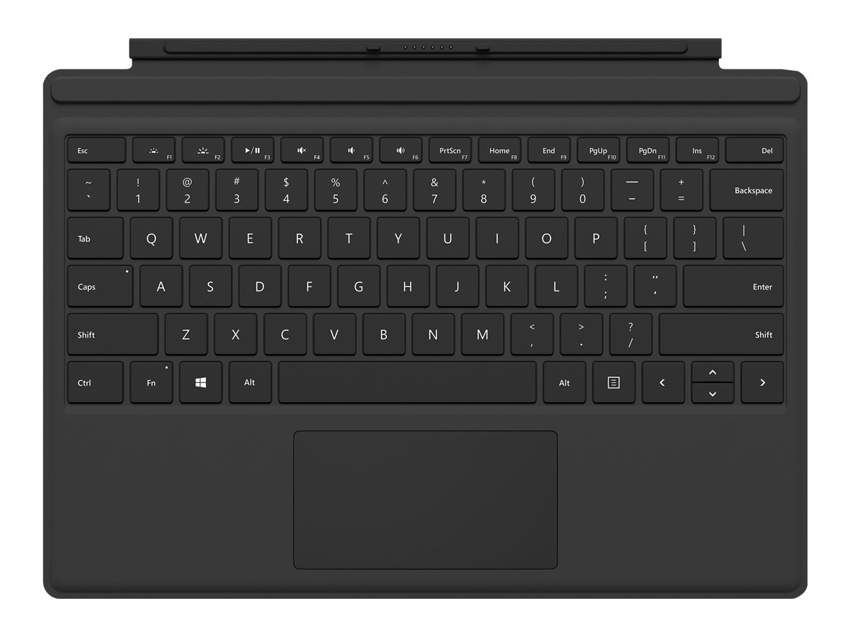 Image for Microsoft Surface Pro Type Cover (M1725) - keyboard - with trackpad, accelerometer  - North America from Circuit City