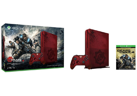 Image for Xbox One S - Gears of War 4 Limited Edition Bundle - game console - 2 TB HDD from Circuit City