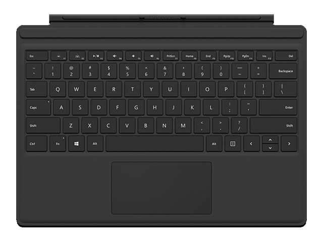 Image for Microsoft Surface Pro 4 Type Cover - keyboard - with trackpad, accelerometer  - North America from Circuit City