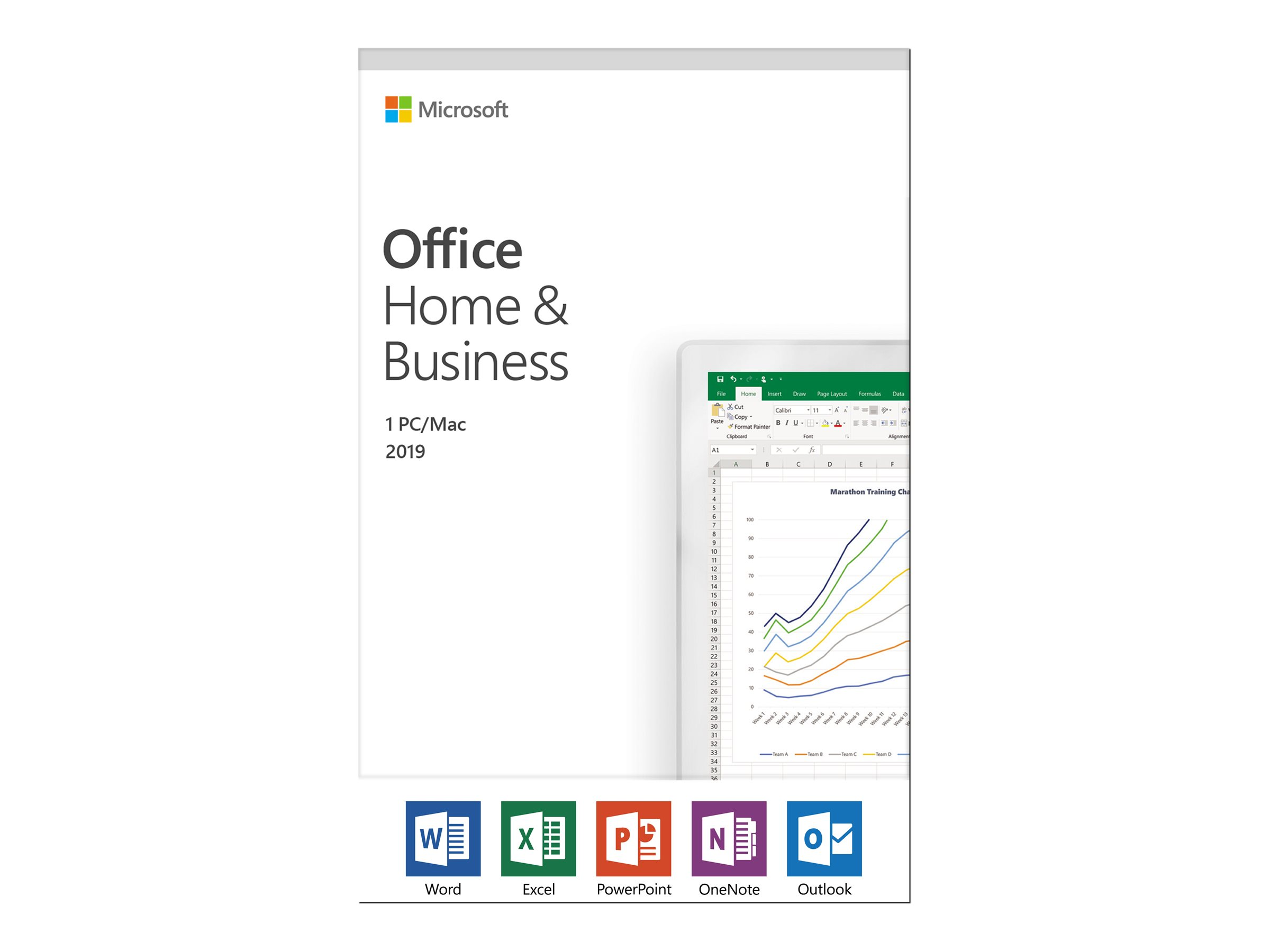 microsoft office home and business 2019 (1 mac) $249.95