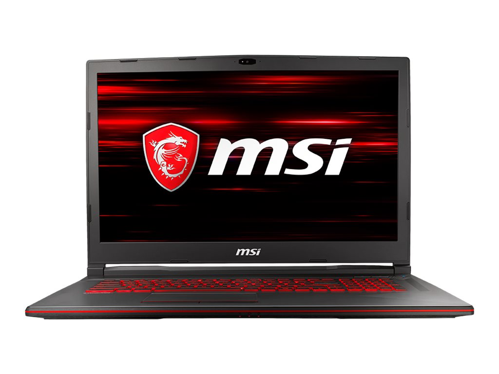 """Image for MSI GL73 8RD 031 - 17.3"""" - Core i7 8750H - 16 GB RAM - 128 GB SSD + 1 TB HDD from Circuit City"""