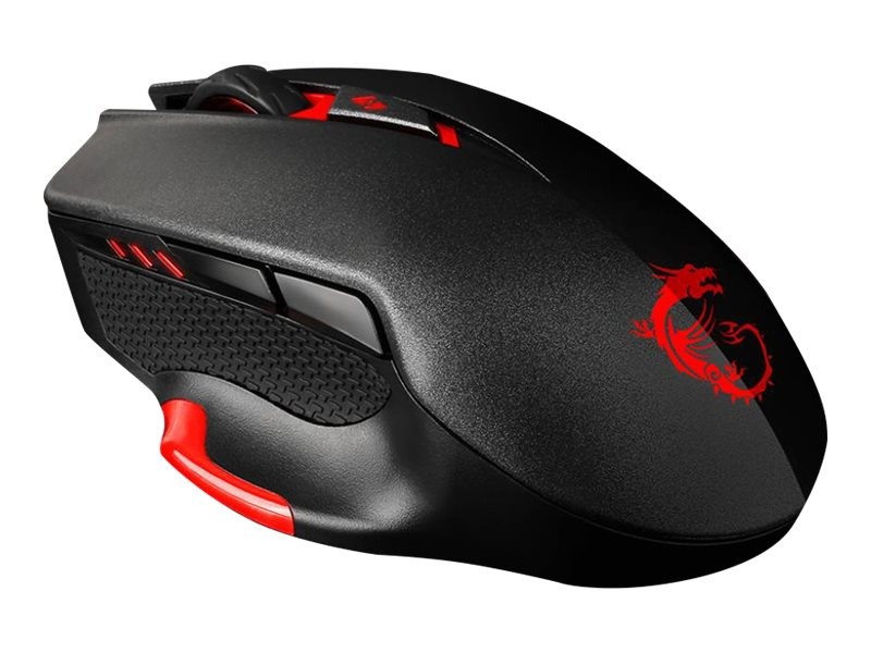 Image for Msi Interceptor Ds300 Gaming - Mouse - Usb - Black from Circuit City