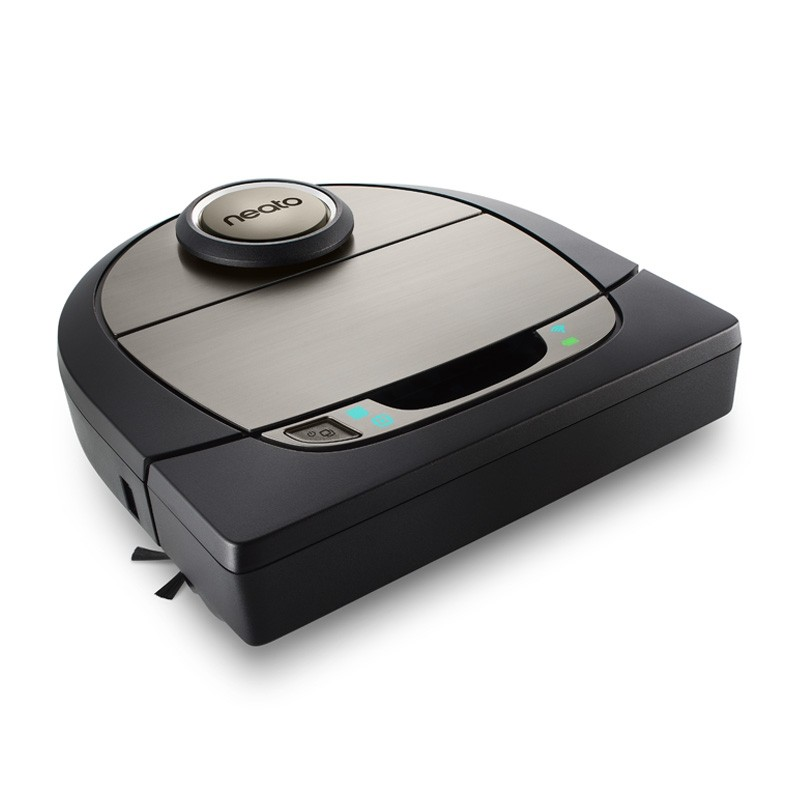 Image for Neato Robotics - Botvac D7 Connected App-Controlled Robot Vacuum - Black/Gray from Circuit City
