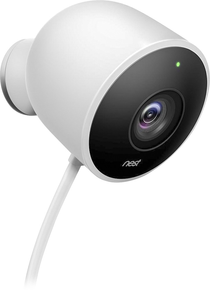 Image for Nest - Cam Outdoor 1080p Security Camera - White from Circuit City