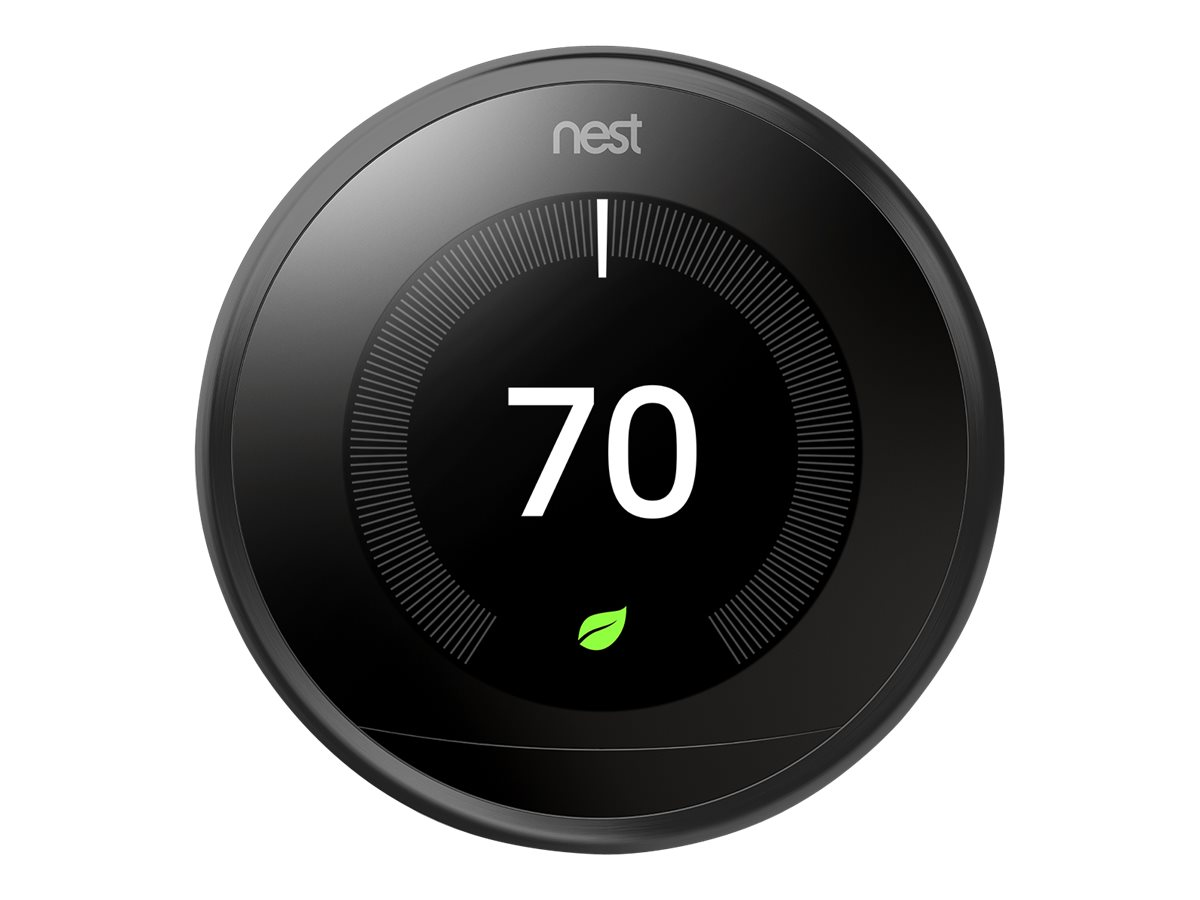 Image for Nest - Learning Thermostat - 3rd Generation - Black from Circuit City