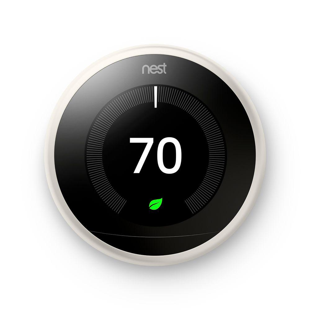 Image for Nest - Learning Thermostat - 3rd Generation - White from Circuit City